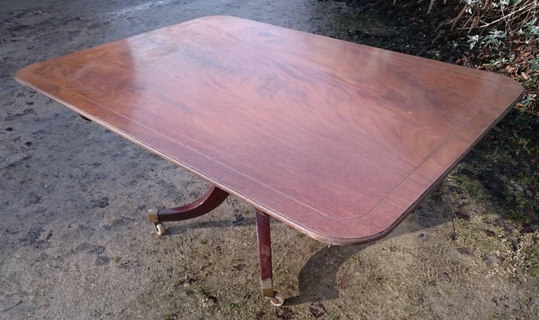18th Century George III Period Mahogany Antique Breakfast Table In Excellent Condition For Sale In Gloucestershire, GB