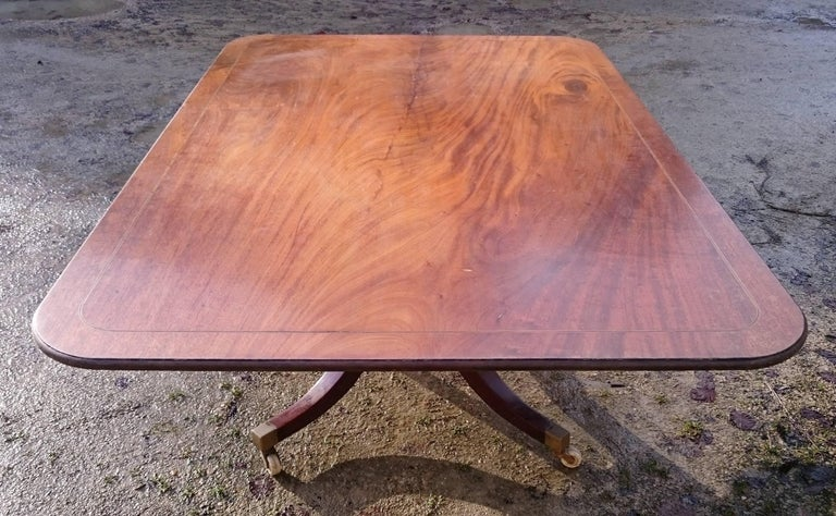 18th Century George III Period Mahogany Antique Breakfast Table For Sale 2