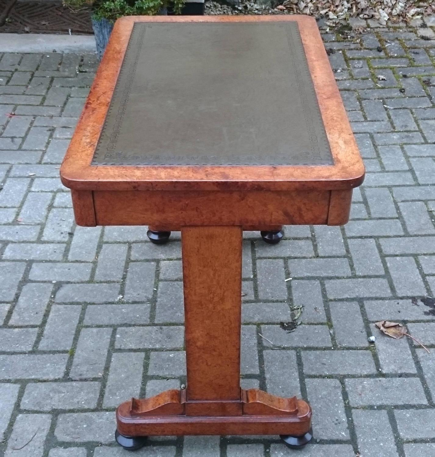 Rare and important regency writing table made of expensive - Most expensive furniture wood ...