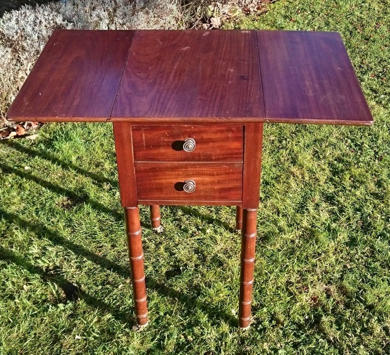 Early 19th Century Regency Period Mahogany Bedside Cupboard Nightstand In Excellent Condition For Sale In Gloucestershire, GB