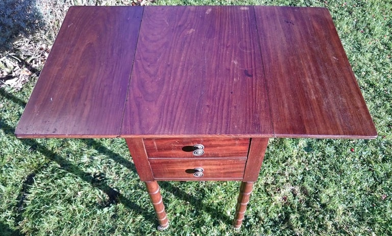 Early 19th Century Regency Period Mahogany Bedside Cupboard Nightstand For Sale 2