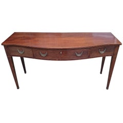 18th Century George III Period Antique Serving Table