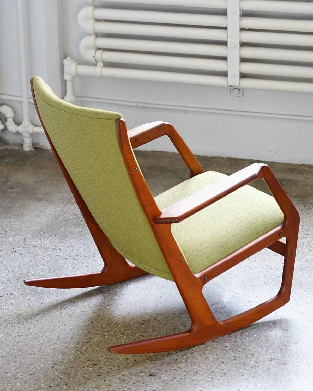Model 100 Rocking Chair by Holger Georg Jensen at 1stdibs