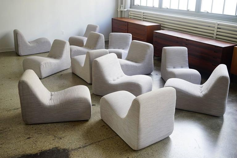 Serpentine Sectional By Milo Baughman At 1stdibs