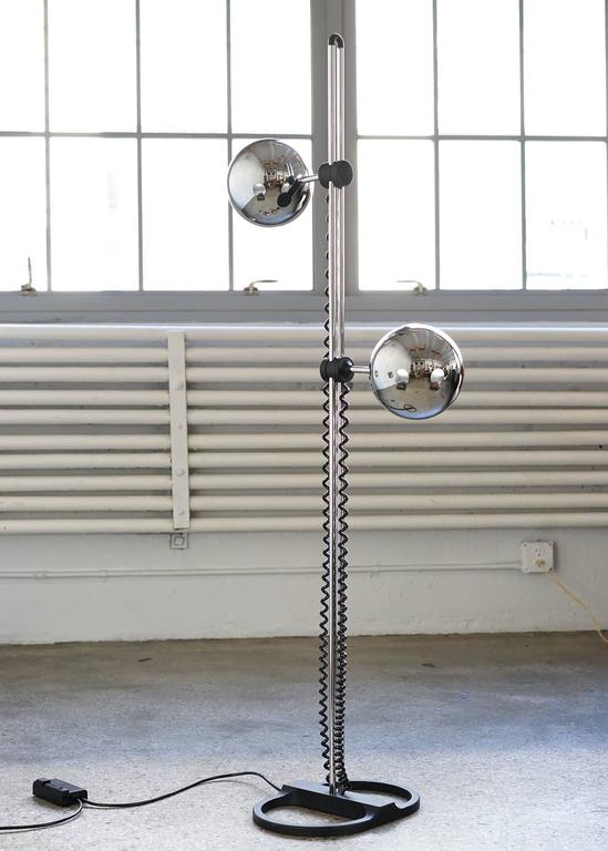 Double Orb Floor Lamp By Staff At 1stdibs