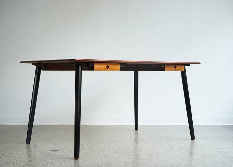 convertible danish desk dining table or partners desk for