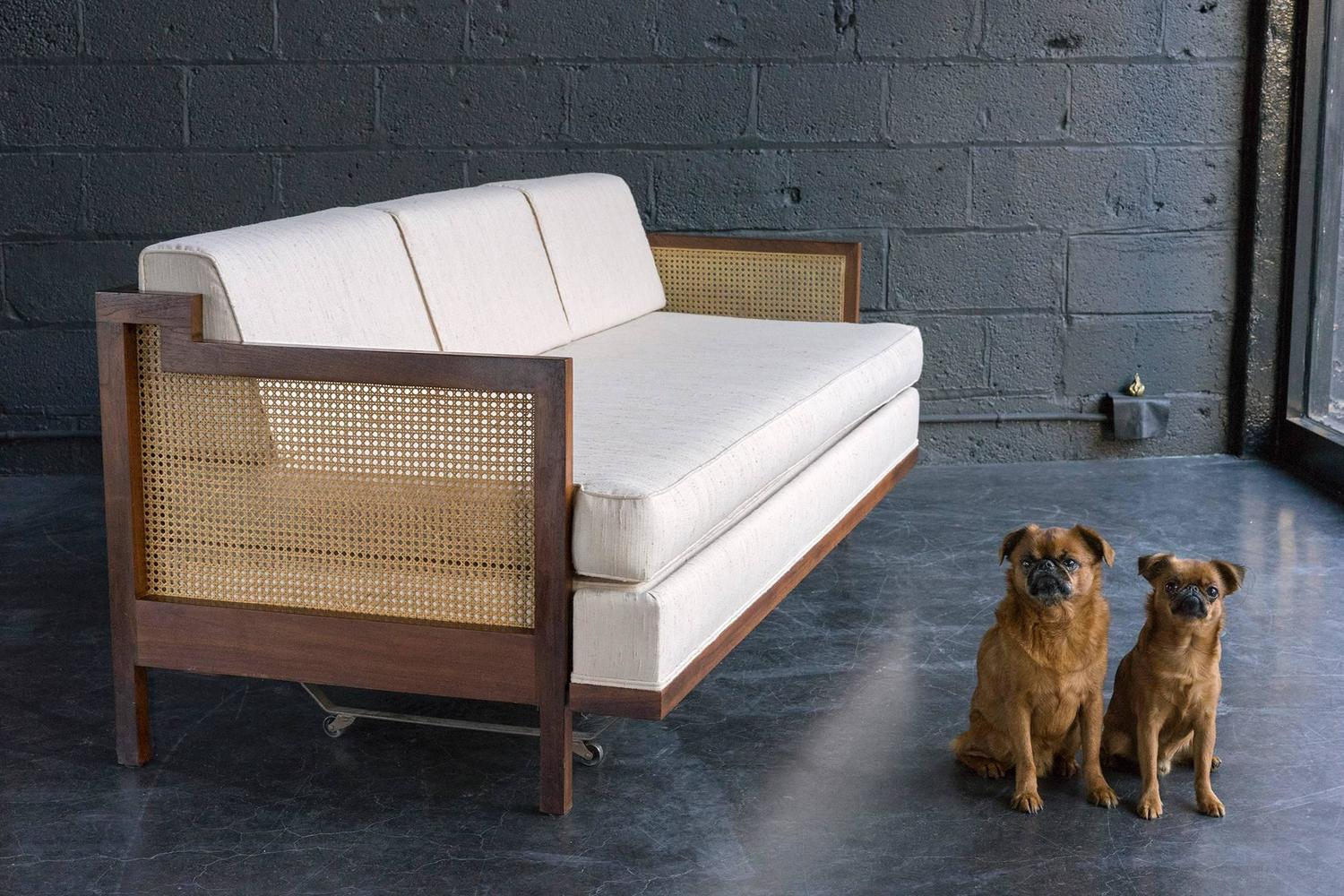 Velvet Daybed With Trundle