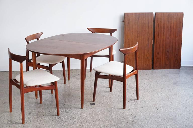 convertible danish modern dining set for sale at 1stdibs