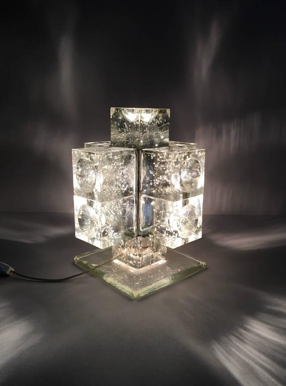 Italian Early Production Poliarte Table Light For Sale