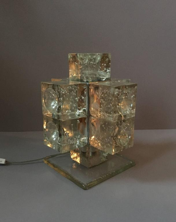 Mid-20th Century Early Production Poliarte Table Light For Sale