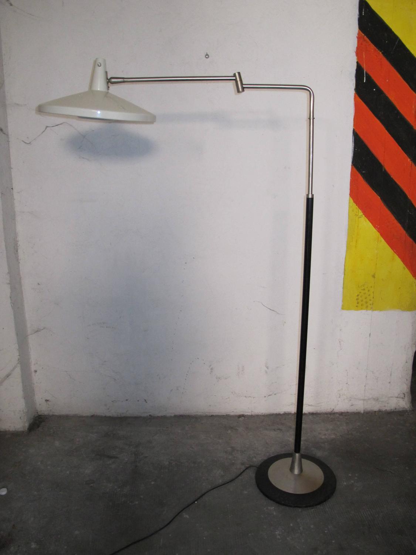floor lamp design stilnovo 1950 for sale at 1stdibs. Black Bedroom Furniture Sets. Home Design Ideas