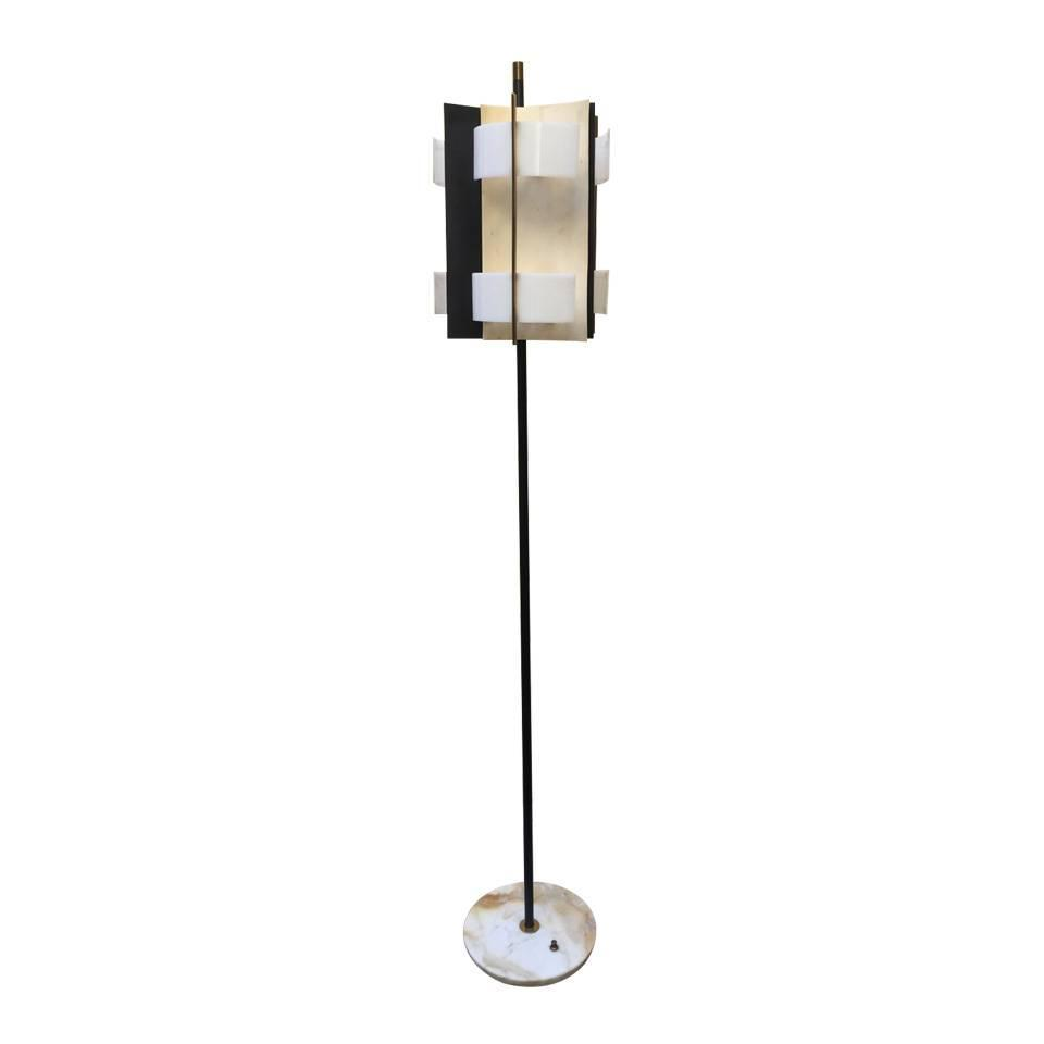 Floor lamp design stilnovo 1950 at 1stdibs for 1950 floor lamp