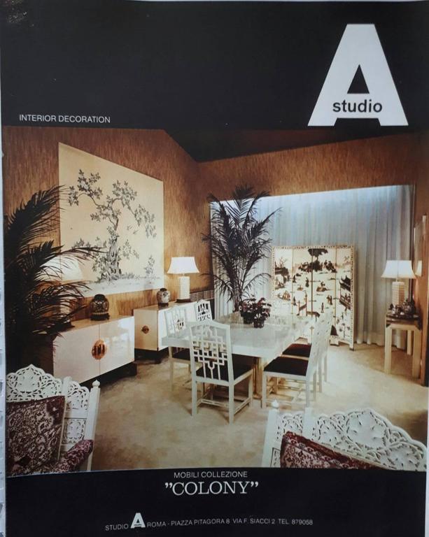 Cabinet, Design Studio A Rome, 1960 6