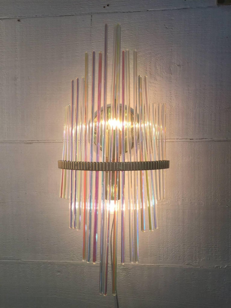 Pair of Wall Lamps, Design, Sciolari, 1960 In Excellent Condition For Sale In Verona, IT
