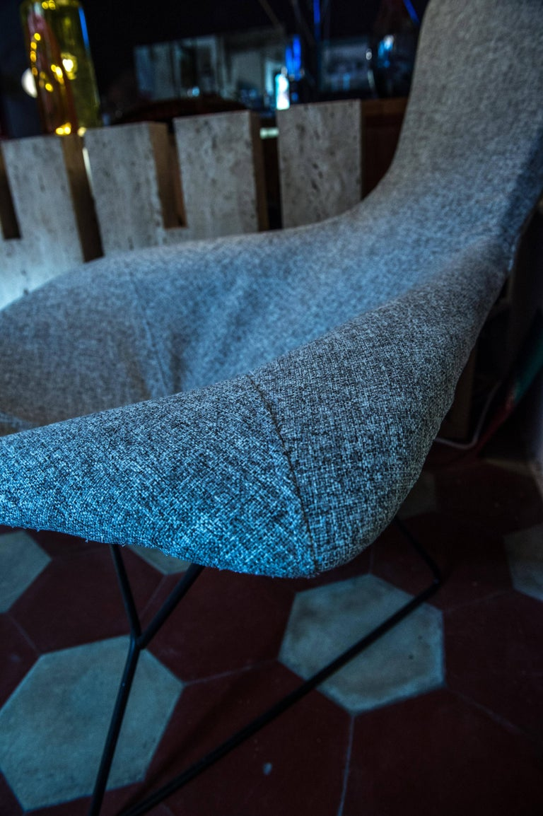 Bird Chair and Ottoman by Harry Bertoia for Knoll 6