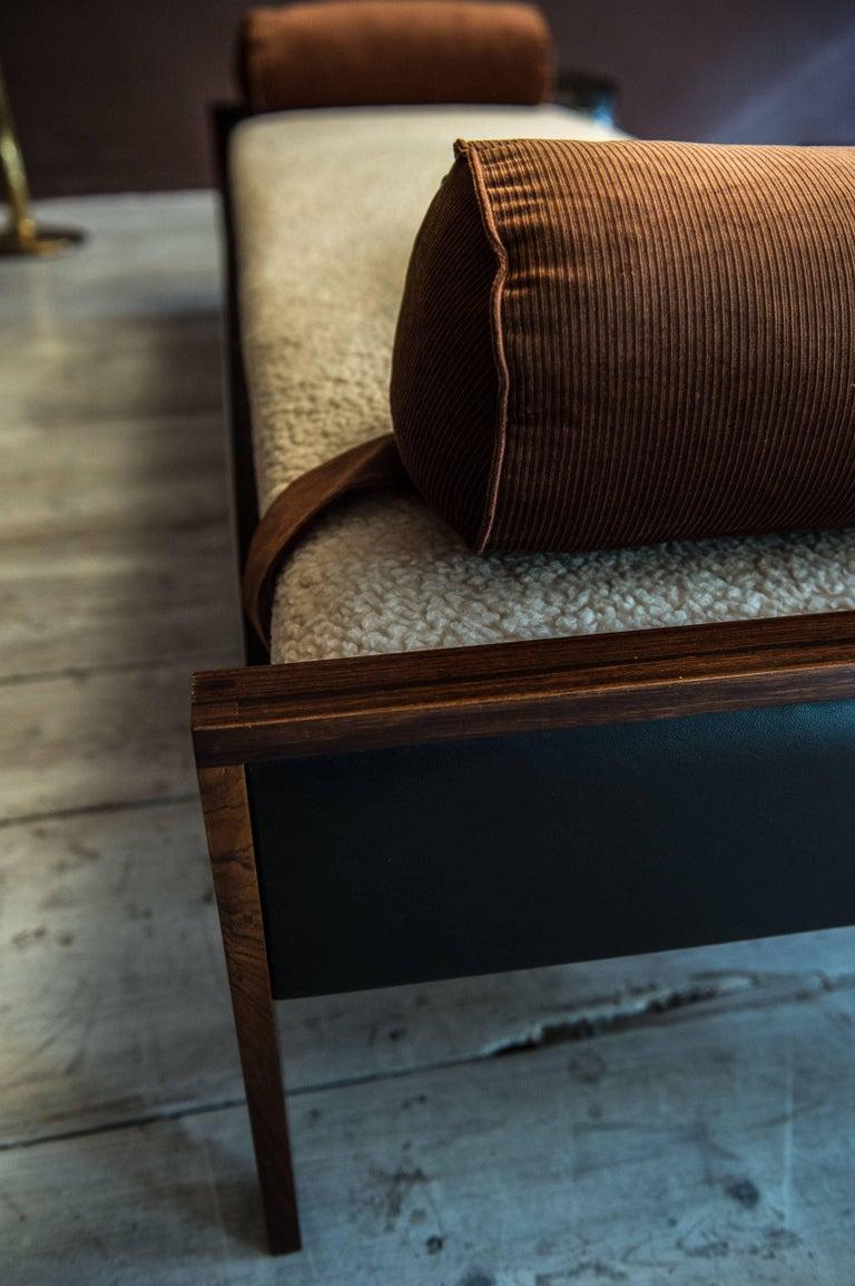 Mid-20th Century Comfortable Sofa Sleeper, Danish Design, 1950 For Sale
