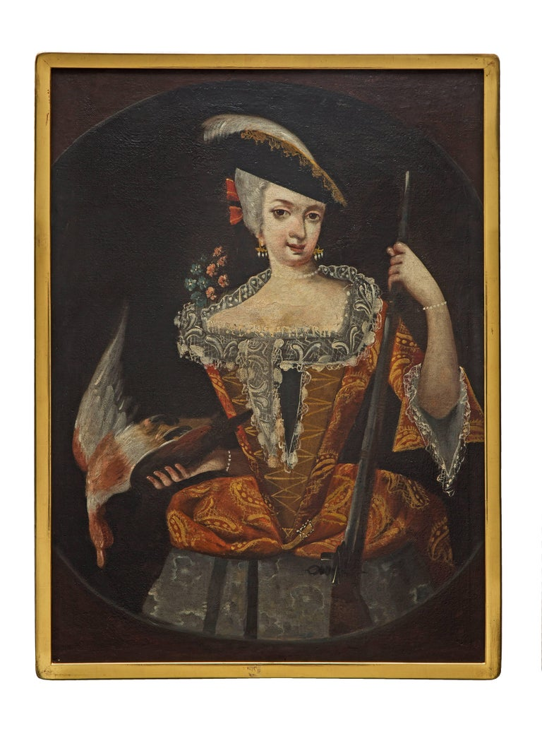 Continental Collection Of 18th Century Paintings Of Ladies For Sale At 1stdibs