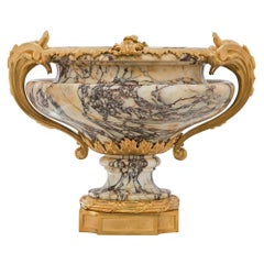 French 19th Century Louis XVI St. Ormolu and Marble Centerpiece