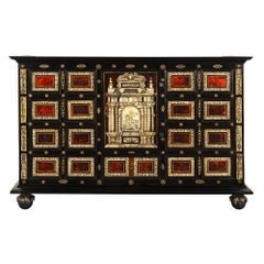 Italian Early 18th Century Baroque Period Specimen Cabinet