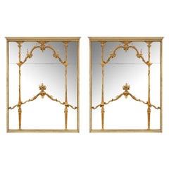 Pair of Italian Mid-19th Century Mirrors, circa 1850