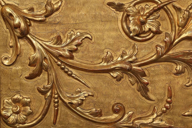 Italian 18th Century Extremely Decorative Giltwood Family ...
