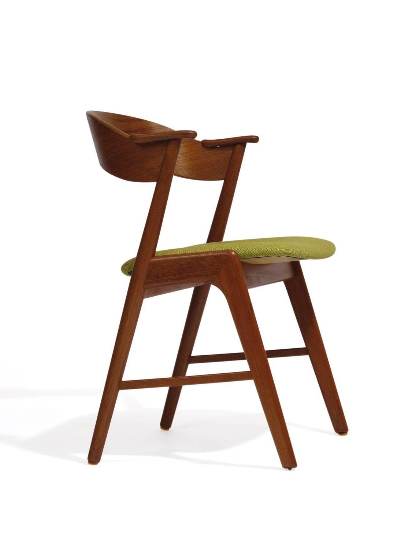 Kai Kristiansen Danish Teak Dining Chairs For Sale At 1stdibs