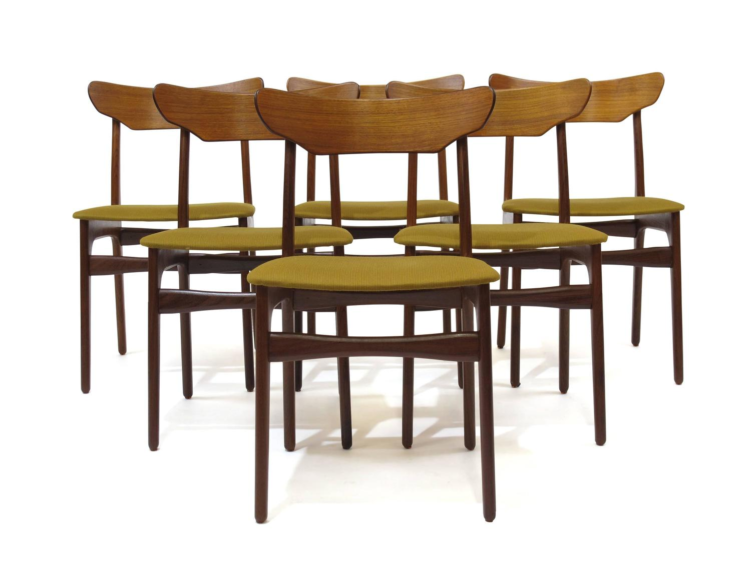 Schionning And Elgaard Danish Teak Dining Chairs 20 Available For