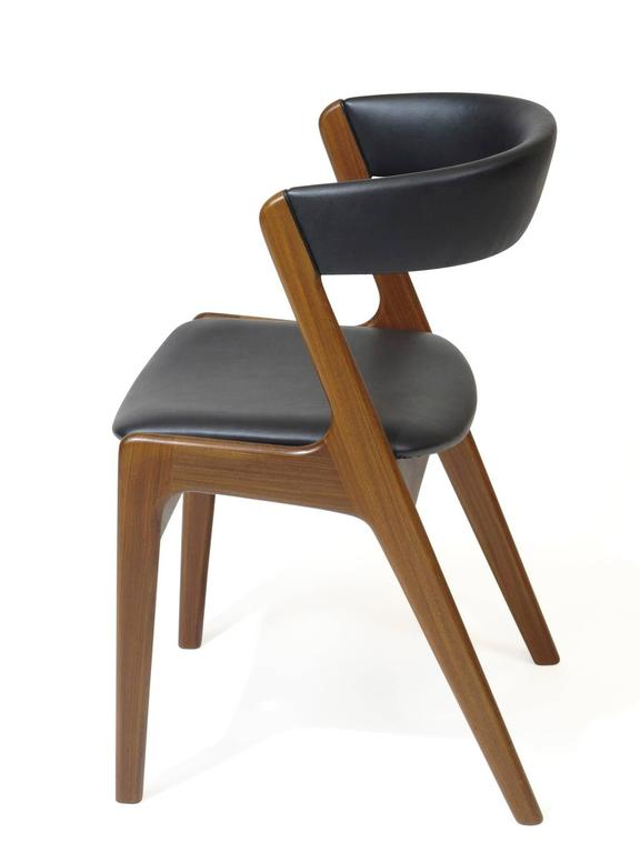 Danish Curved Back Dining Chairs For Sale At 1stdibs
