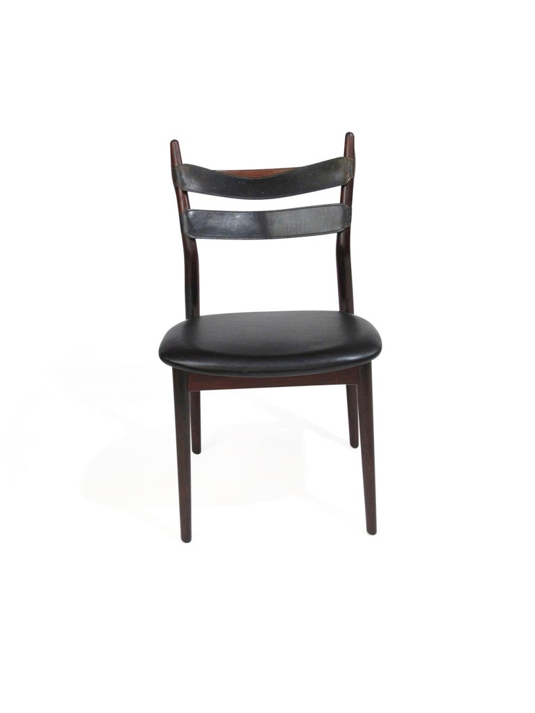 Heldge Sibast Rosewood Dining Room Chairs For Sale 2