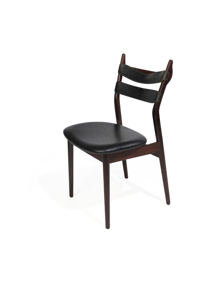 Heldge Sibast Rosewood Dining Room Chairs For Sale 3