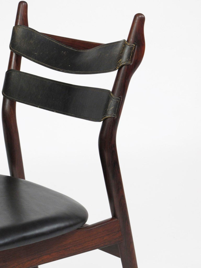 Heldge Sibast Rosewood Dining Room Chairs For Sale 4