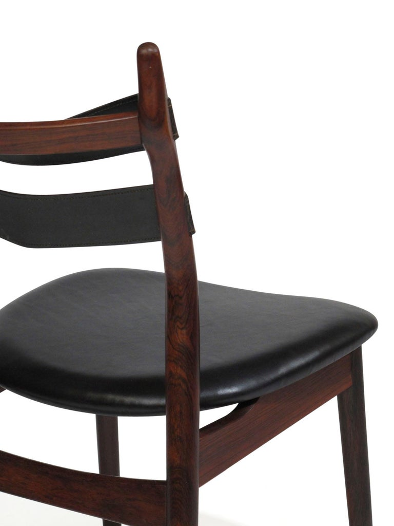 Heldge Sibast Rosewood Dining Room Chairs For Sale 5