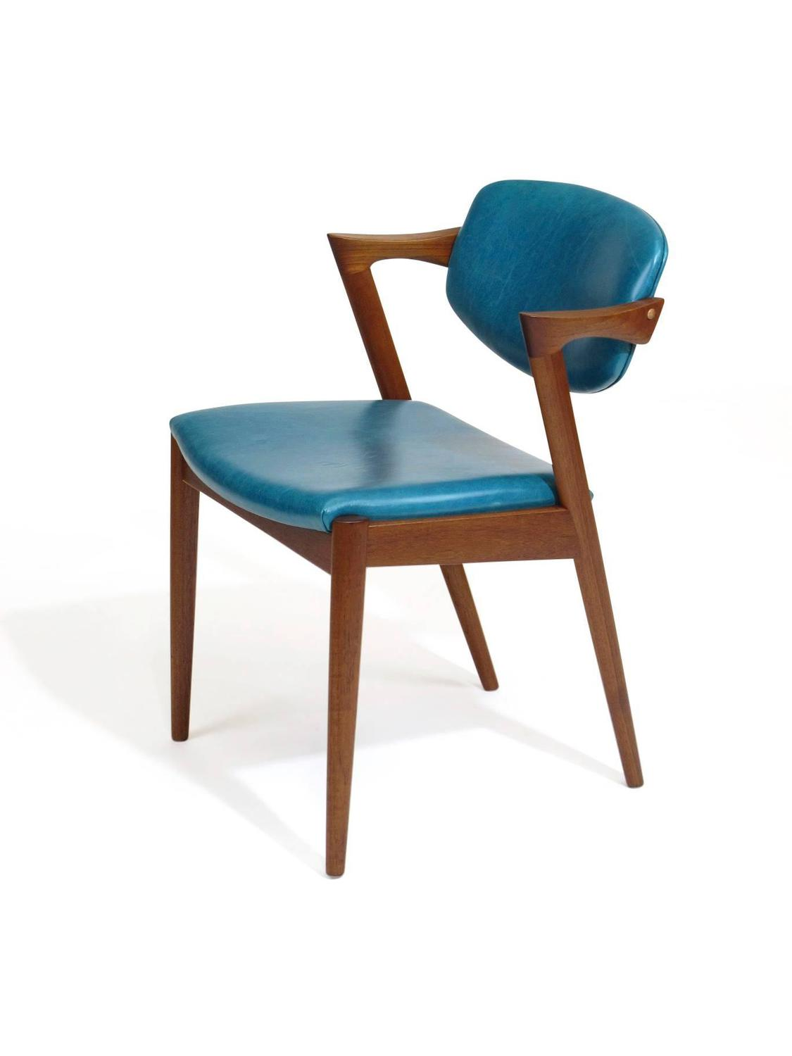Turquoise leather dining chairs lara bonded leather chair turquoise midcentury dining chairs - Turquoise upholstered dining chair ...