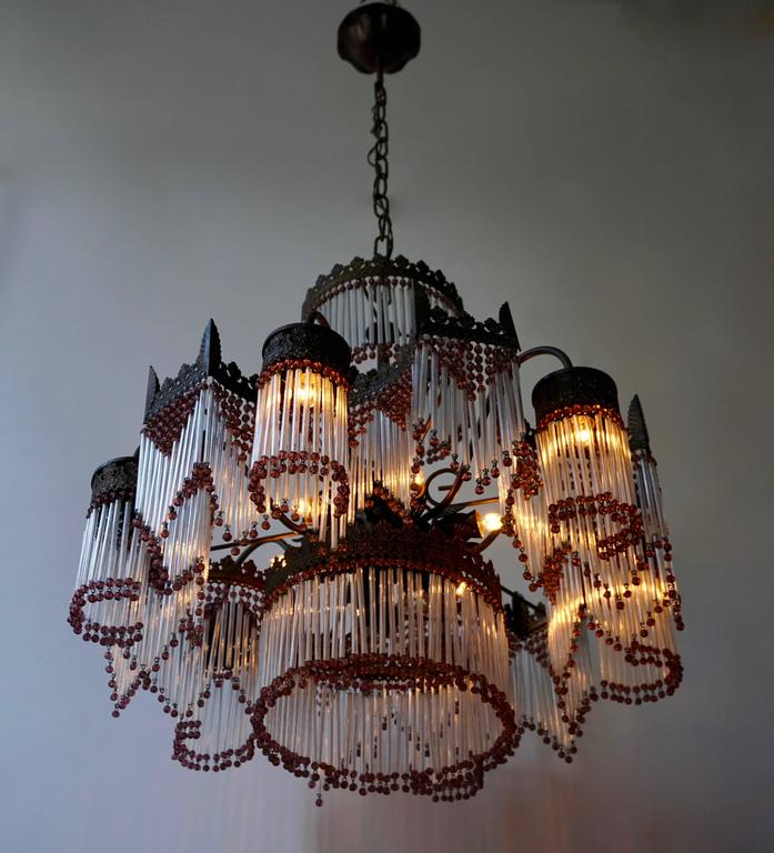 Italian Murano chandelier.