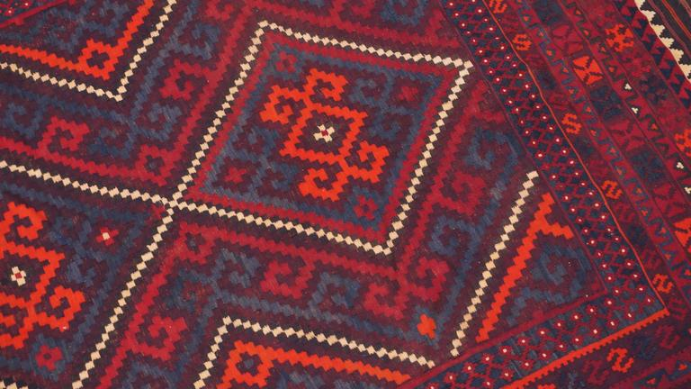 Carpet from Afghanistan.