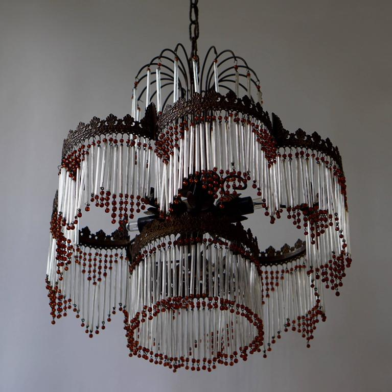 20th Century Italian Murano Chandelier For Sale
