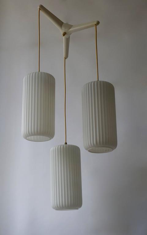 1950s Murano glass pendant light.