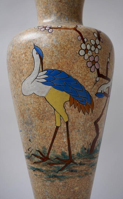 20th Century Ceramic Vase by A. Dubois For Sale