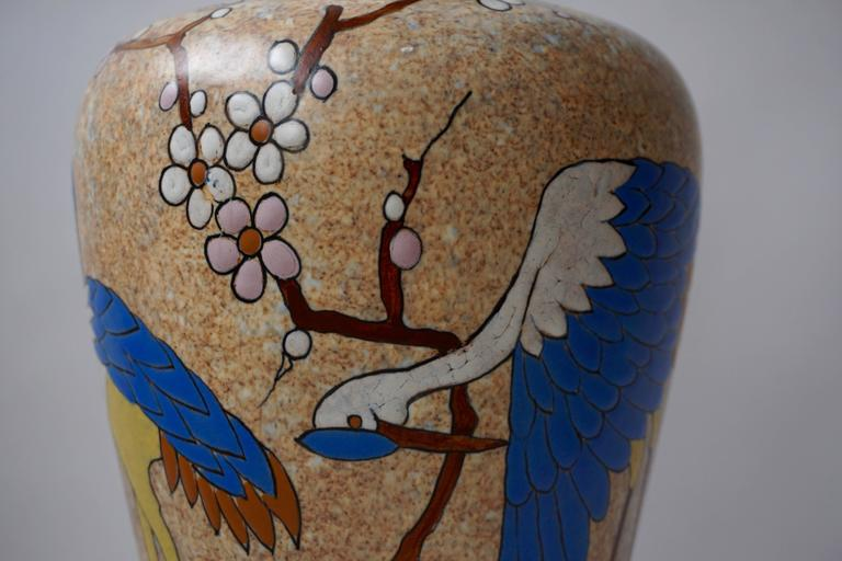 Ceramic Vase by A. Dubois For Sale 3