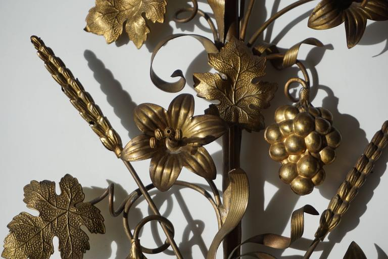 Brass Wall Sconces In Good Condition For Sale In Antwerp, BE
