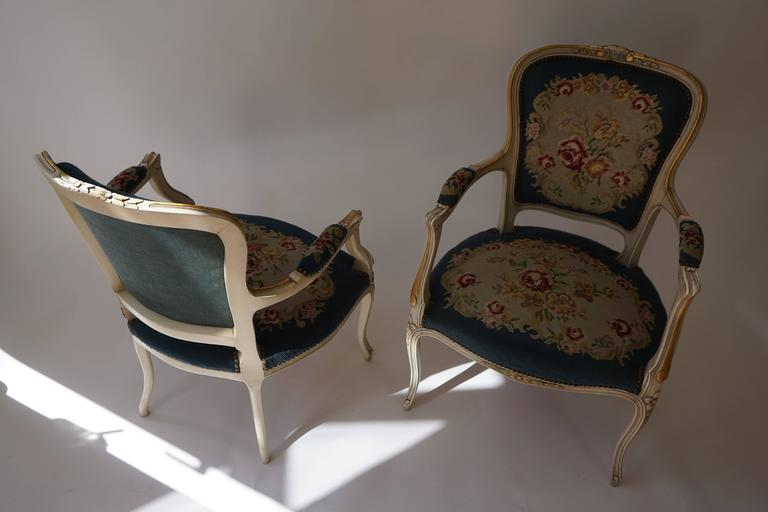 20th Century Set of Two Club Chairs For Sale