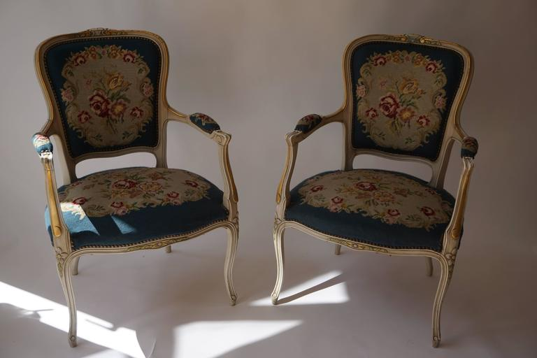 Set of Two Club Chairs For Sale 1