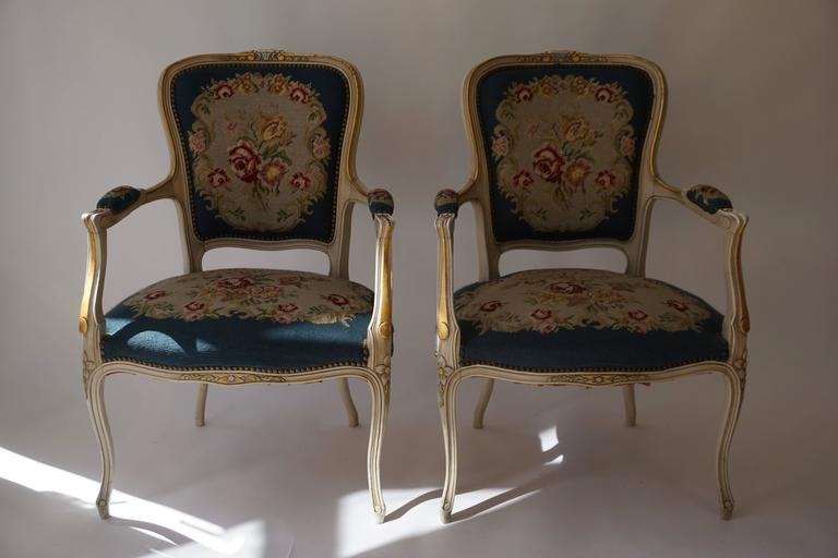 Set of Two Club Chairs For Sale 3