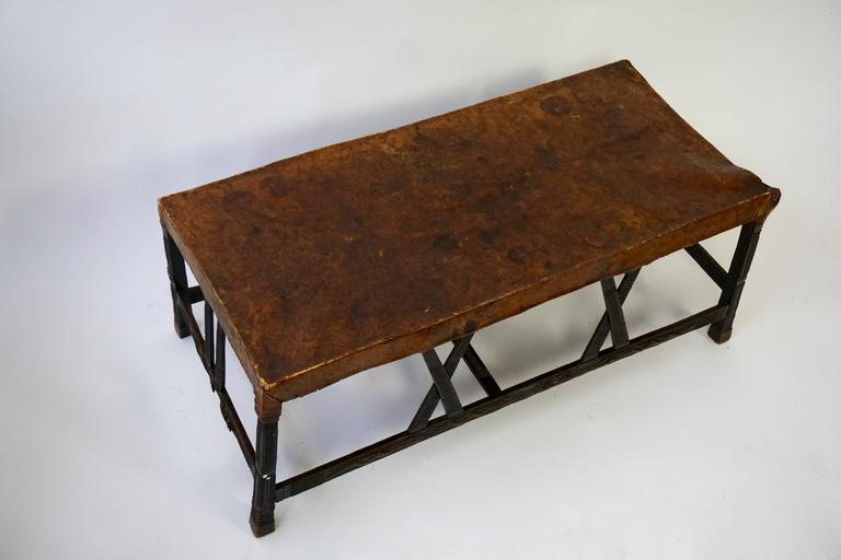 Tribal Hardwood Chokwe Bench, Angola, 19th Century For Sale
