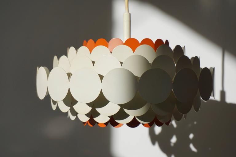 German Doria Pendant Light For Sale