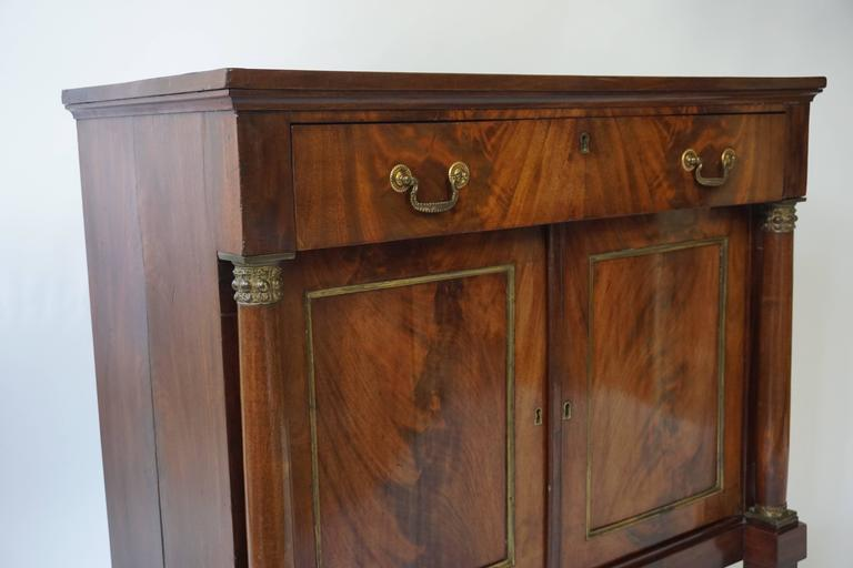 Early 19th Century Empire Mahogany Sideboard