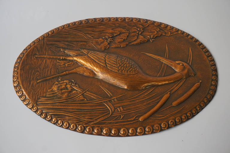 20th Century Copper Artwork For Sale