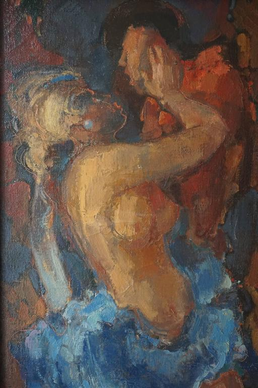 Born and raised in Bergen op Zoom, Joop Mijsbergen studied at the Royal Academy of Fine Arts and the National Higher Institute of Fine Arts in Antwerp (1953-1960). Since 1979 Joop Mijsbergen runs a private school for drawing and