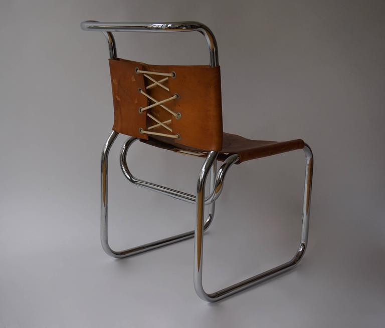 Greek CH66 Dining Chair by Nicos Zographos, 1960s For Sale