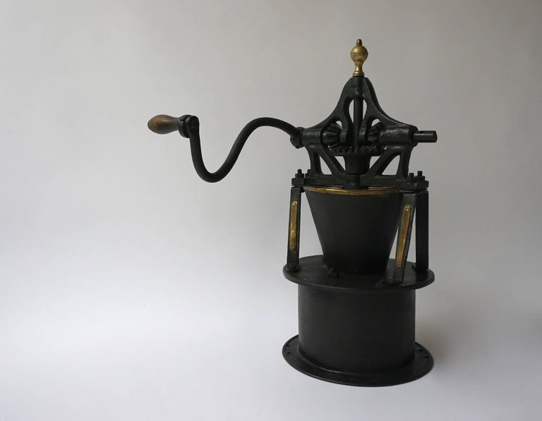 Belgian Decorative Coffee Grinder For Sale